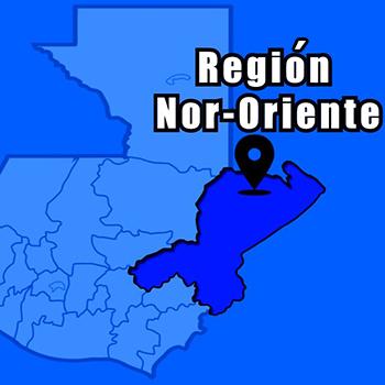 Las 8 regiones de Guatemala