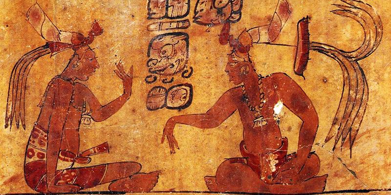 Leyenda de la creación del mundo maya