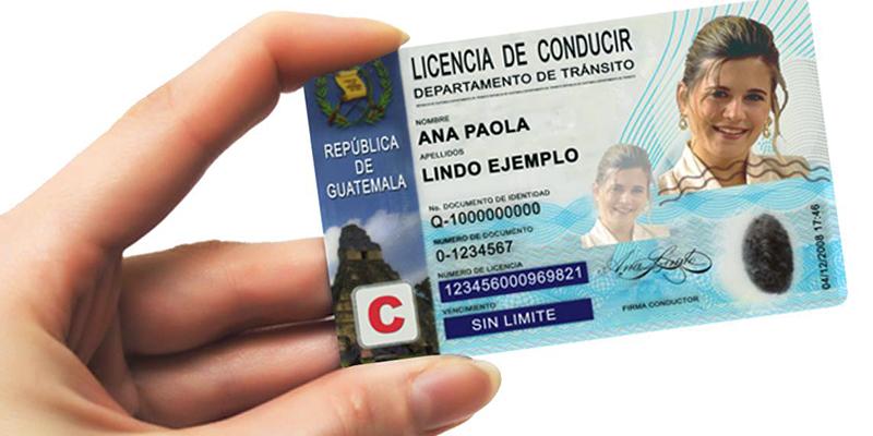 Precios de las licencias de conducir de Guatemala