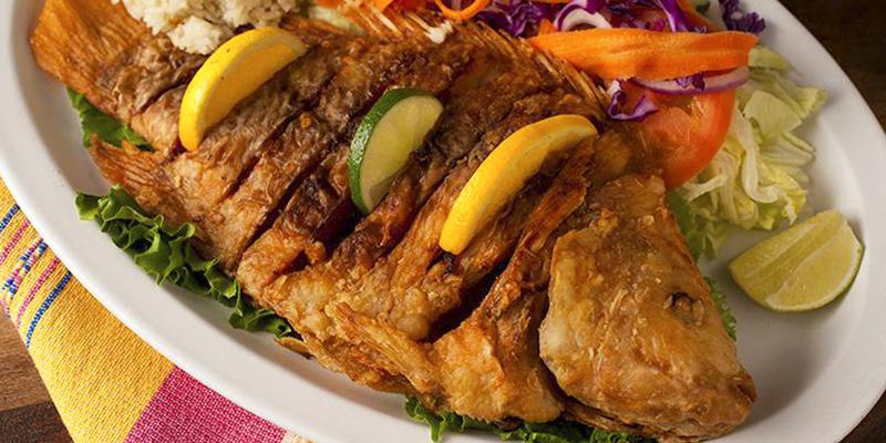 Receta para hacer mojarras fritas guatemaltecas