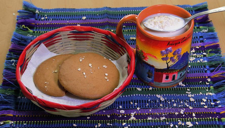 Receta para hacer mosh guatemalteco