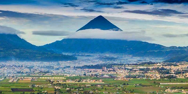 Volcán Santa María y Santiaguito, Quetzaltenango