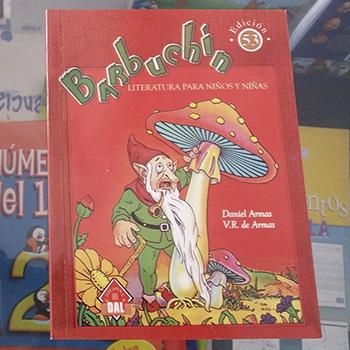 Barbuchín, libro guatemalteco reconocido