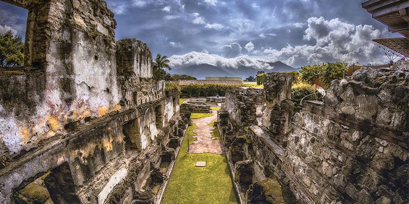 Historia del convento de Santo Domingo, Antigua Guatemala