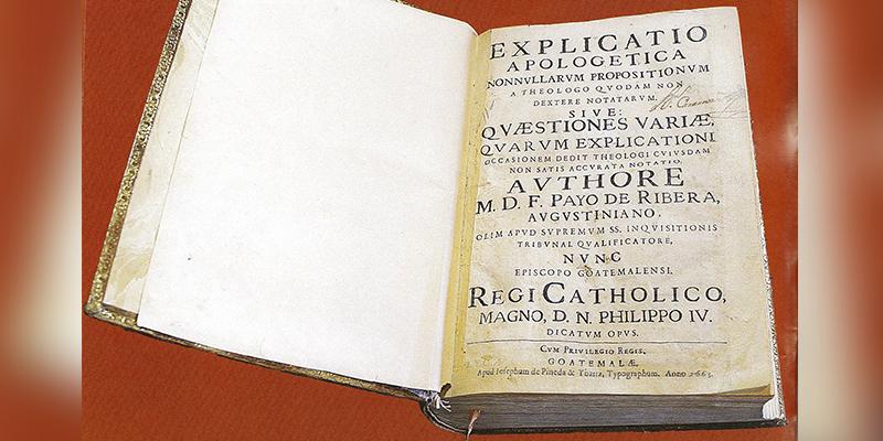 Historia del primer libro impreso en Guatemala