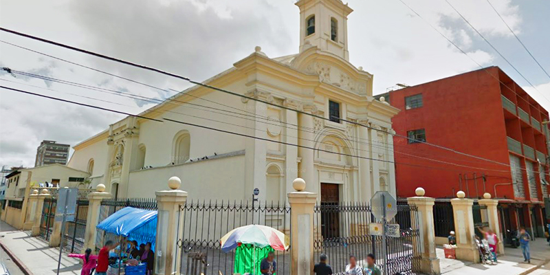 Iglesia Santa Rosa, ciudad de Guatemala