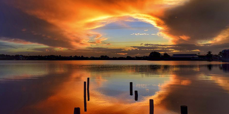 Lago Petén Itzá, Guatemala