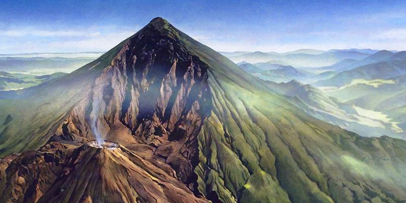 Leyenda del volcán por Miguel Ángel Asturias