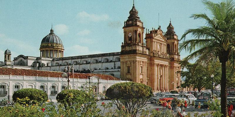 Palacio Arzobispal de la ciudad de Guatemala
