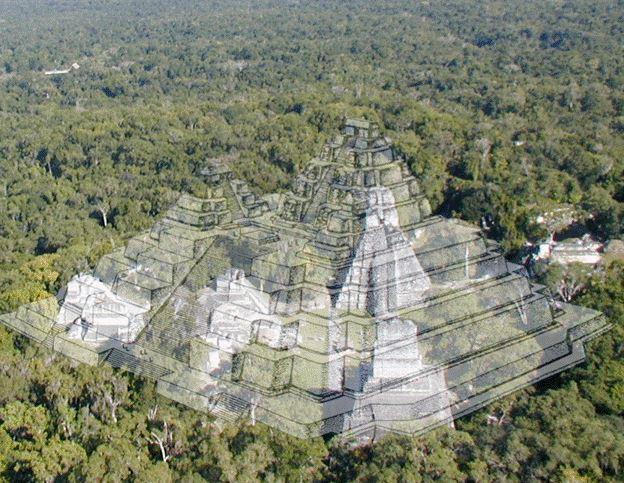 Pirámide La Danta, Petén