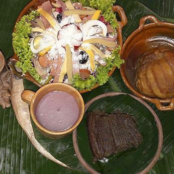 Receta del atol de Ixpasá, bebida del día de los muertos