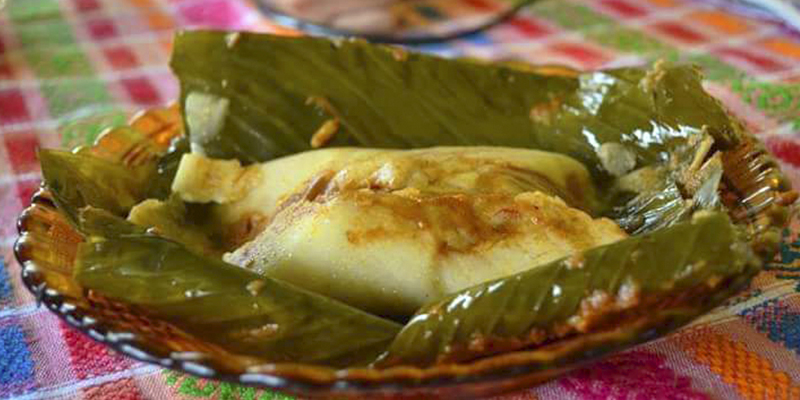 Receta para hacer tamales colorados guatemaltecos