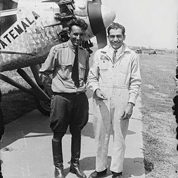 Biografía de Miguel García Granados Solís, aviador3