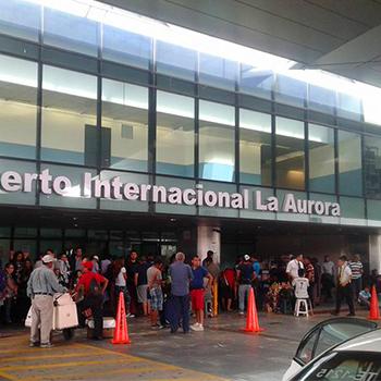Cuántos aeropuertos hay en Guatemala