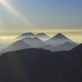 ¿Cuántos volcanes hay en Guatemala?