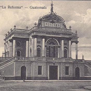 Historia del Palacio de La Reforma en Guatemala