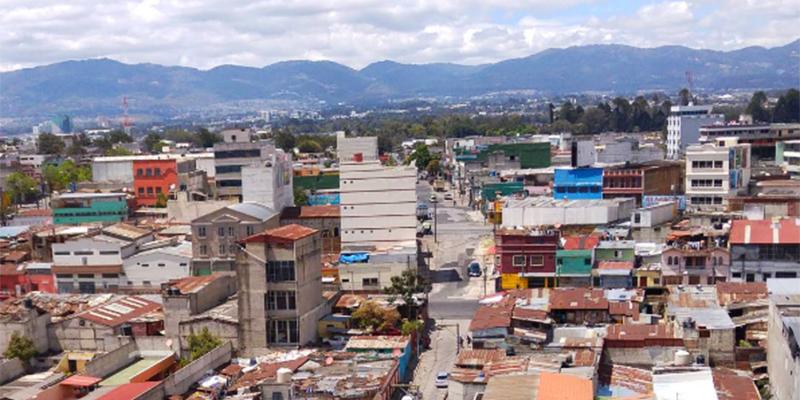 Mapa de los municipios del departamento de Guatemala