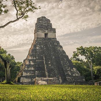 Pirámide Gran Jaguar en Tikal, Petén