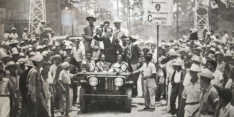 Revolución octubre 1944 Guatemala