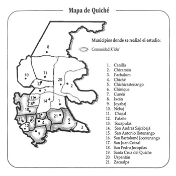 Departamento de El Quiché, Guatemala