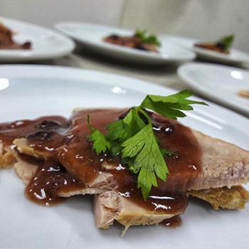 Receta de pierna de cerdo horneada guatemalteca