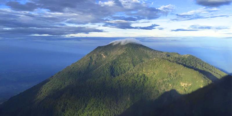 Volcán Santo Tomás, Guatemala