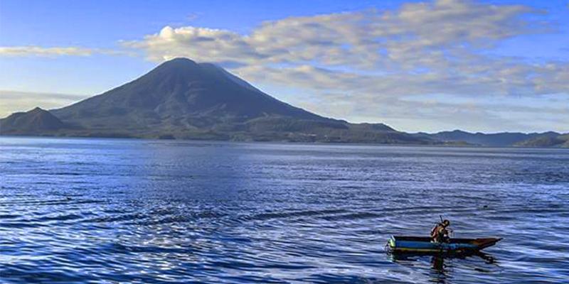 ¿Cómo se formó el Lago de Atitlán en Guatemala?
