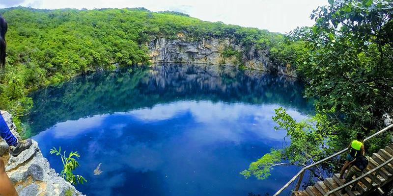 Cenotes de Candelaria en Guatemala