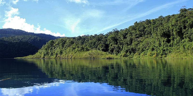 Laguna Maxbal en Huehuetenango