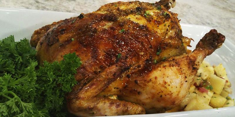 Receta para hacer pollo relleno guatemalteco
