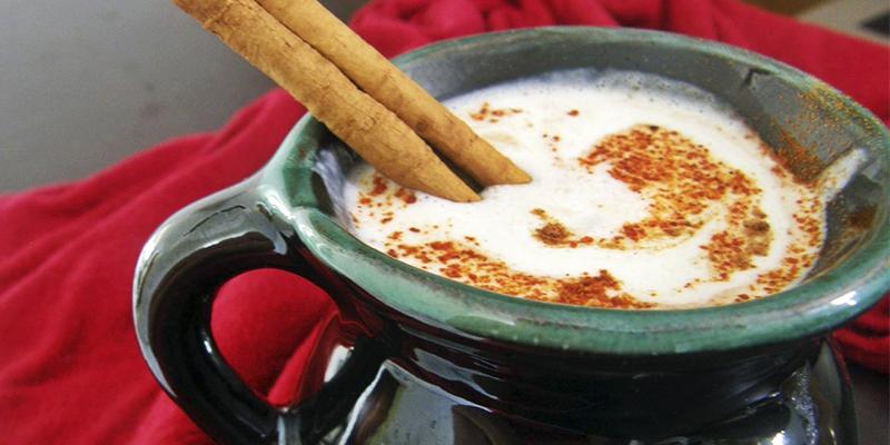 Receta para hacer ponche de leche guatemalteco