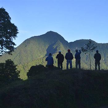 Volcán Lacandón en Guatemala
