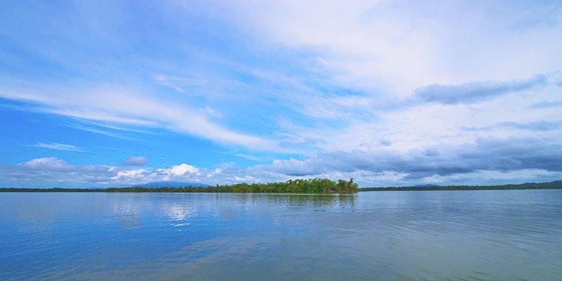 Lago Golfete en Izabal