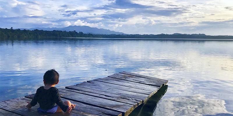 Laguna Lachuá en Alta Verapaz
