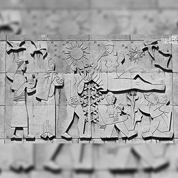 Murales del Palacio Municipal de Guatemala