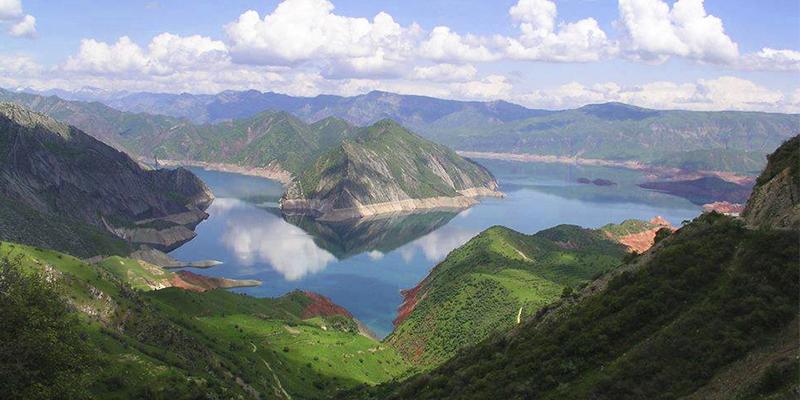 Río Chixoy en Guatemala