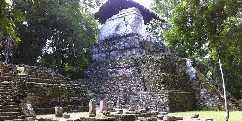 Sitio arqueológico Topoxté en Petén