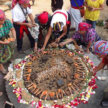 Waqxakib' B'atz o Año Nuevo Maya en Guatemala