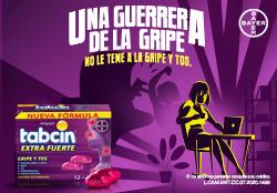 Tabcin Gripe y Tos disponible en Guatemala
