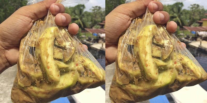 El mango con limón, pepita y sal de Guatemala