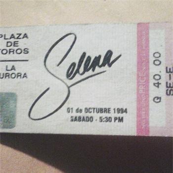 Fotos de Selena Quintanilla en Guatemala2