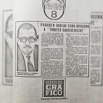 Biografía de Luis Alberto Romero Timoteo Curruchiche