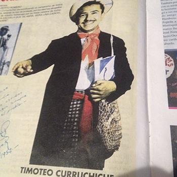 """Biografía de Luis Alberto Romero """"Timoteo Curruchiche"""""""