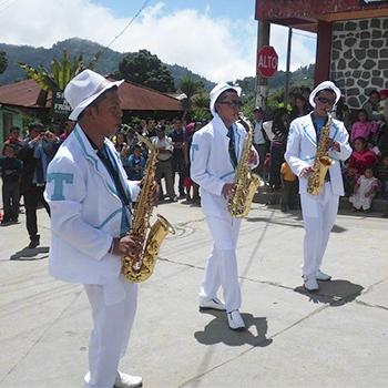 Fiesta patronal de Sibinal, San Marcos