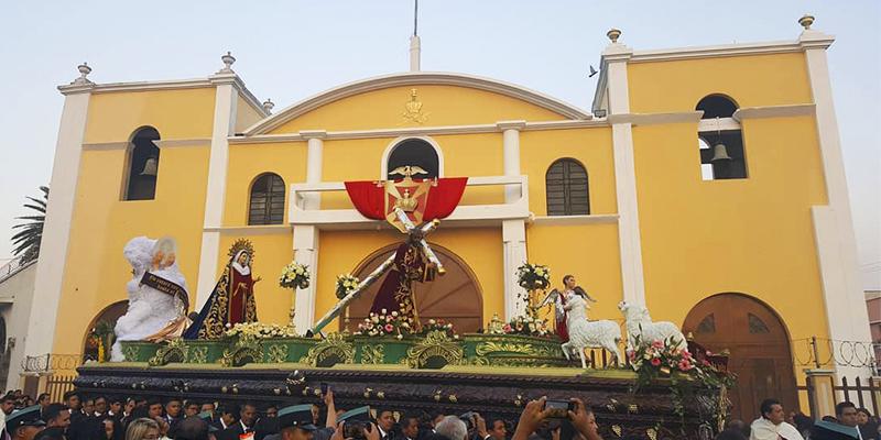 Iglesia de San José en la ciudad de Guatemala