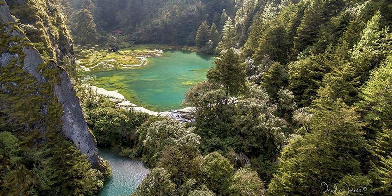Laguna de Magdalena en Huehuetenango