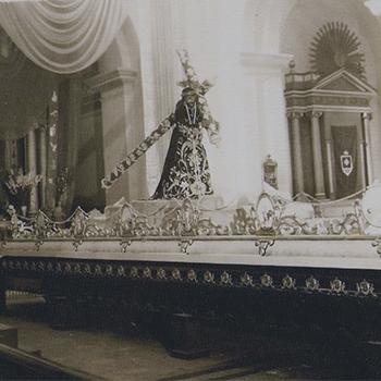 Leyenda de Jesús Nazareno de la Merced en Guatemala