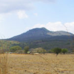 Volcán Ixtepeque en Guatemala