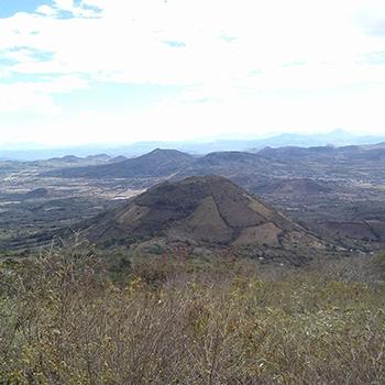 Volcán Monterrico en Guatemala