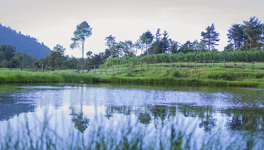 Laguna de Chichoy en Chimaltenango